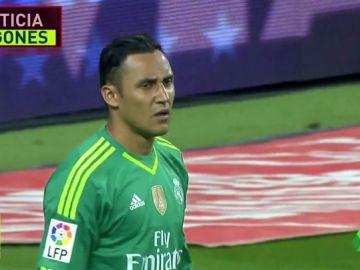 El Real Madrid comunica a Keylor Navas que no va a continuar