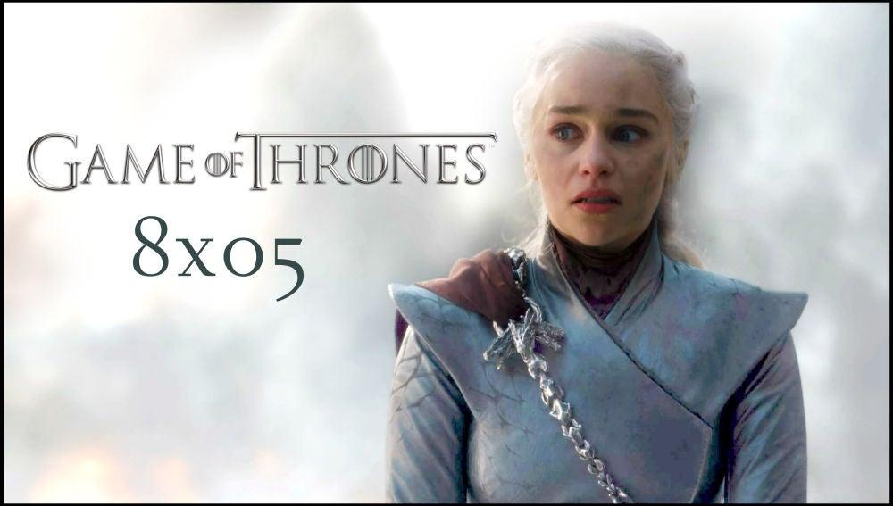 Fotograma del episodio 8x05 de 'Juego de Tronos'.