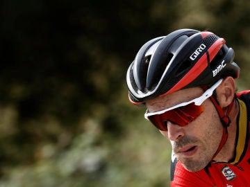 El ciclista español Samuel Sánchez