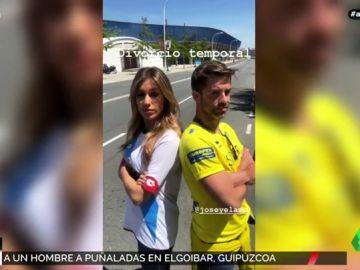 """La tensión futbolera de Paula del Fraile y """"su pariento"""""""