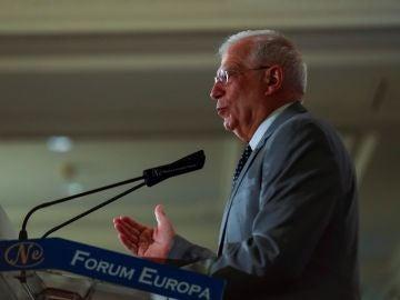 El ministro de Asuntos de Exteriores en funciones, Josep Borrell