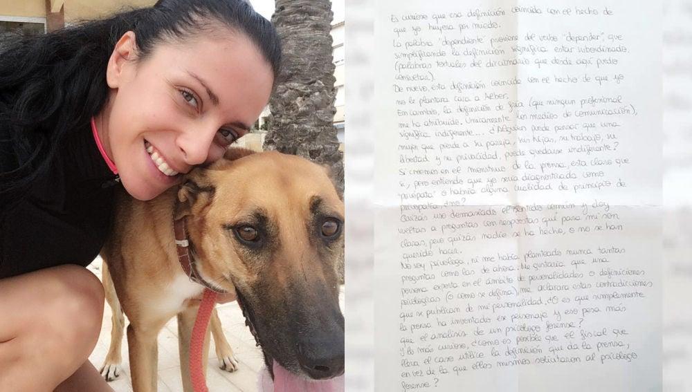 Rosa Peral y la carta enviada desde prisión