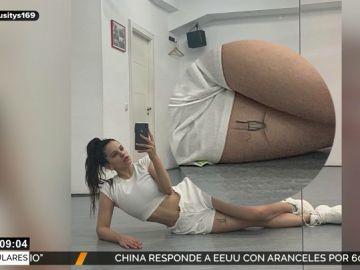 Rosalía y su foto más polémica: ¿qué es lo que realmente lleva la artista tatuado en el muslo?