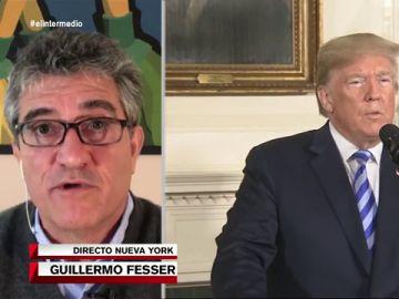 """El análisis de Guillermo Fesser sobre la escalada de tensión en EEUU:""""Trump es como un tigre acorralado que puede soltar un zarpazo"""""""