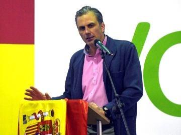 Javier Ortega Smith, candidato de Vox para la alcaldía de Madrid.