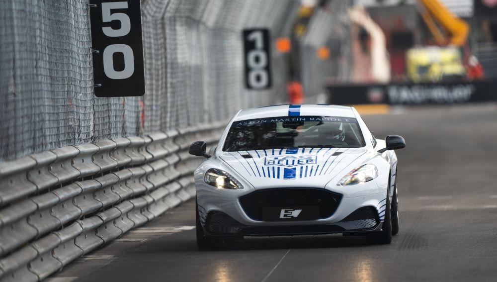 Aston Martin Rapide E en el ePrix de Mónaco