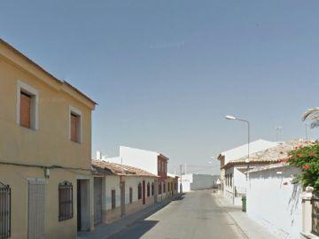 Calle Santiago (Socuéllanos) donde tuvo lugar la agresión