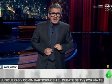 """La reflexión de Andreu Buenafuente sobre Eurovisión: """"Está la gente de Israel como para ponerse a cantar"""""""