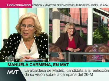 La razón por la que Manuela Carmena no hará la oposición en el Ayuntamiento de Madrid