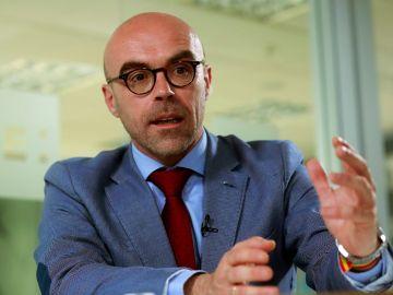 El cabeza de lista de Vox al Parlamento Europeo, Jorge Buxadé