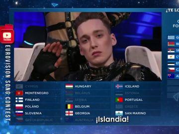 La 'alegría' de Hatari arrasa y coloca a Islandia en la final de Eurovisión