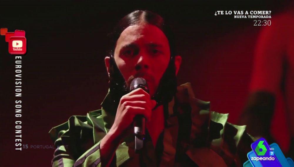 Portugal no logró clasificarse para la final de Eurovisión
