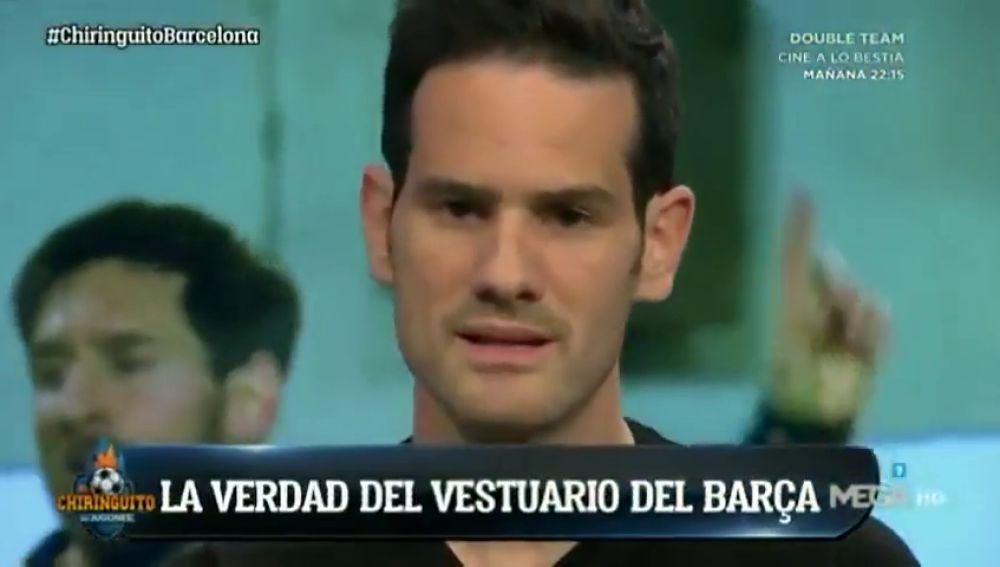 """Quim Domènech: """"Algunos jugadores del vestuario del Barcelona creen que el liderazgo de Messi y Suárez no ha sido positivo"""""""