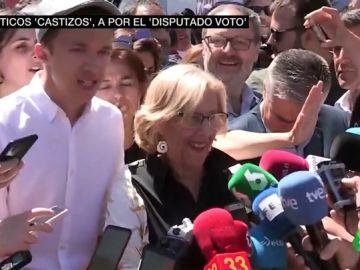 El voto más castizo se disputa en Madrid: bailes, cantos y comida para ganarte al electorado
