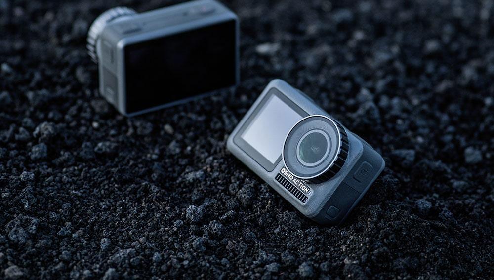La nueva cámara de DJI cuenta con doble pantalla