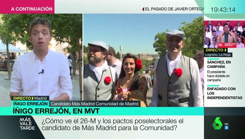"""Íñigo Errejón: """"Vox es una anécdota. Los españoles amamos la España de hoy, no la de hace 50 años"""""""