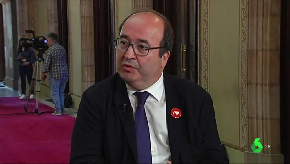 """laSexta Noticias 20:00 (15-05-19) Iceta acudirá al Constitucional por el veto de ERC a su nombramiento: """"Es una aberración democrática"""""""
