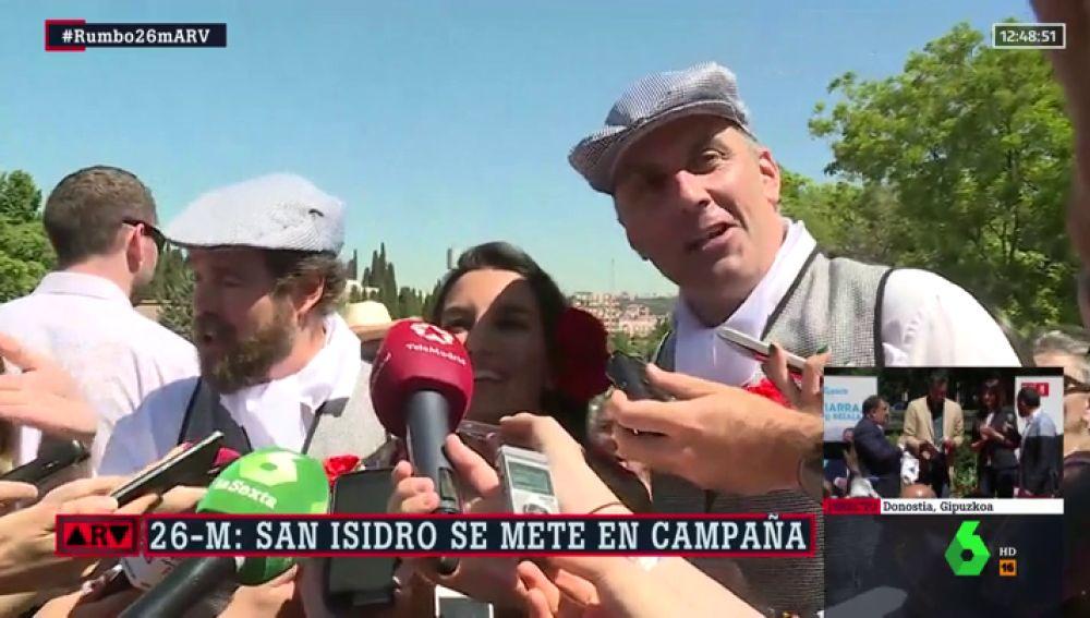 Los candidatos de Vox en las elecciones madrileñas
