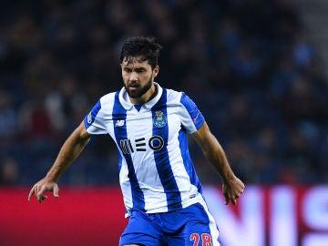 Felipe durante un partido con el Oporto