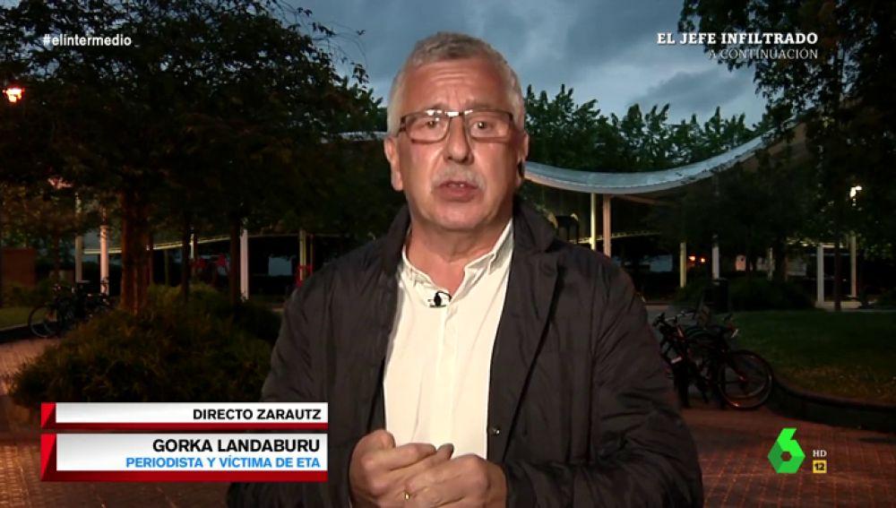 """Gorka Landaburu, periodista y víctima de ETA: """"Tienen que hacer autocrítica, y reconocer que matar no sirvió para nada"""""""