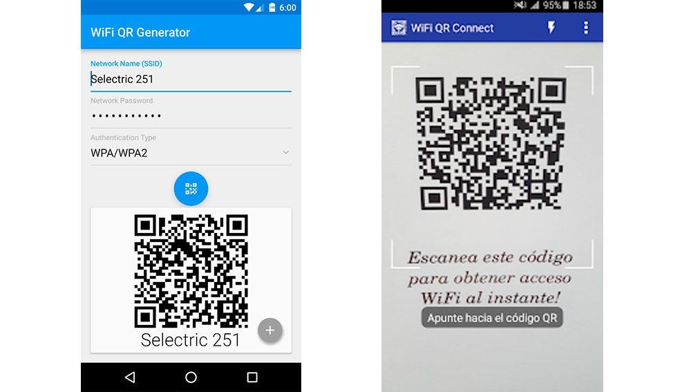 Apps para compartir la contraseña Wifi