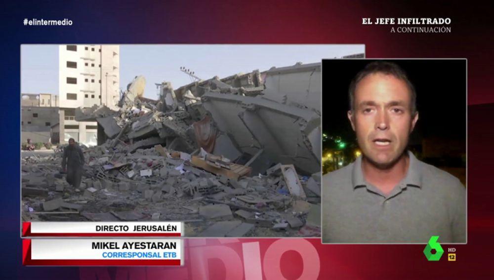 """Mikel Ayestaran: """"El festival de Eurovisión está en un radio de alcance de los cohetes de las milicias palestinas"""""""