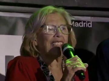 """Manuela Carmena, en la fiesta LGTBI de Más Madrid: """"La bollería es dulzura, suavidad, delicia"""""""