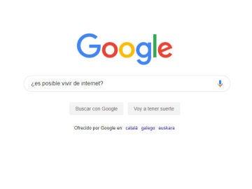 Imagen del buscador de Google.