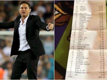 La factura de Frank Lampard tras ganar al Leeds