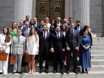 Diputados de Vox en el Congreso