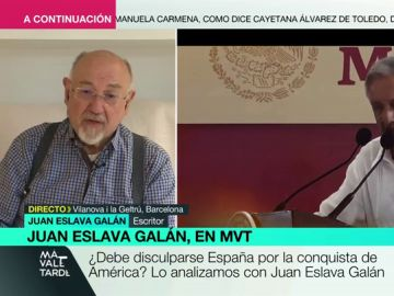 """El análisis de Juan Eslava Galán sobre la conquista española: """"No eran indios inocentes como nos hacen creer"""""""