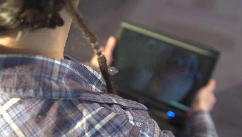Frame de un vídeo porno