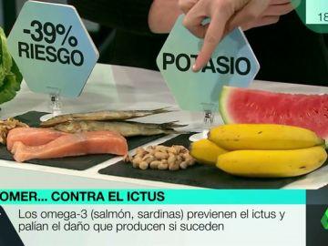 Estos son los alimentos que pueden reducir el riesgo de sufrir un ictus hasta un 40%