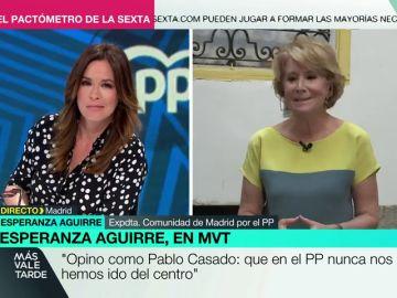Esperanza Aguirre confirma que Díaz Ayuso creó y gestionó la cuenta de su perro Pecas en Twitter