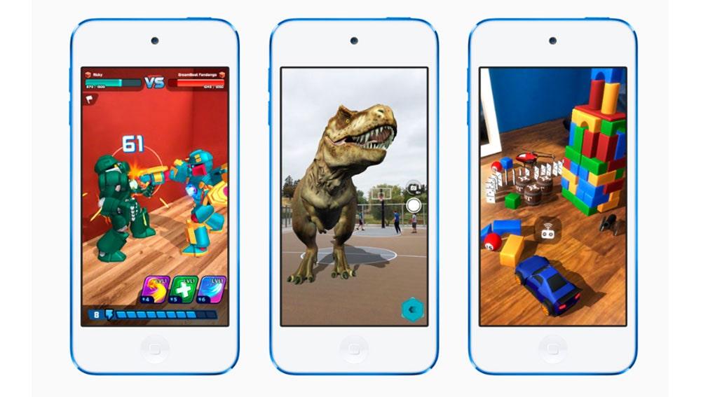 El iPod Touch ahora es compatible con realidad aumentada