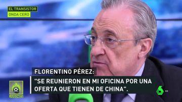 Florentino confirma la exclusiva de Josep Pedrerol: Ramos ha pedido marcharse gratis a China