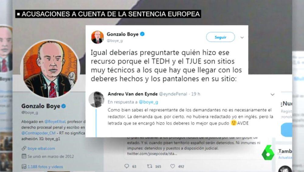 Cruce de reproches en el Parlament y entre los abogados de Junqueras y Puigdemont por la sentencia de Estrasburgo