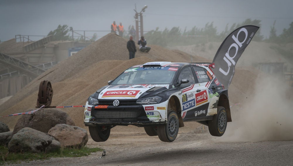 Oliver Solberg vence su primer rally europeo