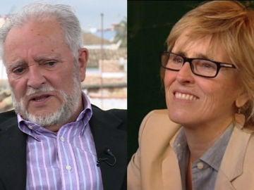 Julio Anguita y Mercedes Milá