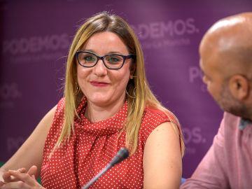 La secretaria de Organización de Podemos de Castilla-La Mancha, María Díaz