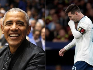 Barack Obama y Leo Messi