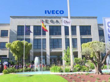 Concentración de empleados de Iveco