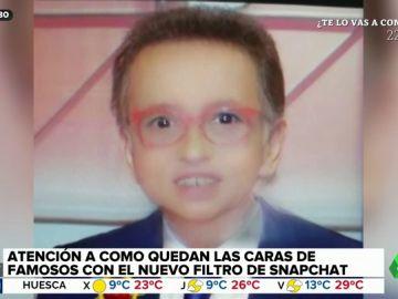 Errejón, Jordi Hurtado o Donald Trump: así son los famosos con el filtro de Snapchat que te convierte en bebé