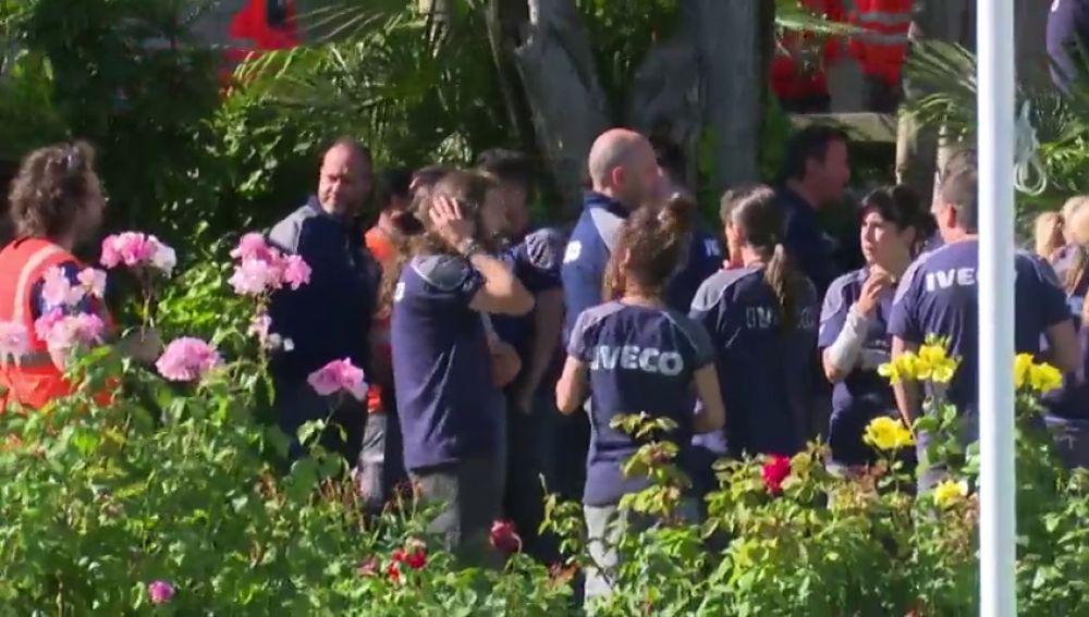 Trabajadores de Iveco se concentran para condenar el suicidio de Verónica