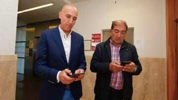 Recuento de votos en el Juzgado de León