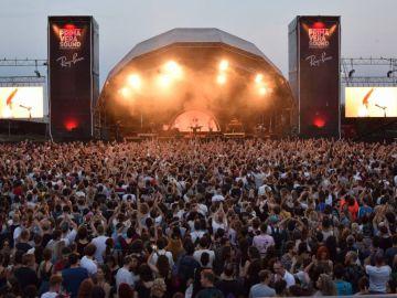 Vista del escenario en el festival Primavera Sound 2018.