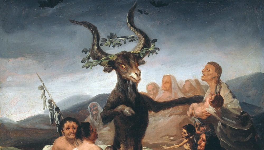 El Aquelarre, Óleo de Goya