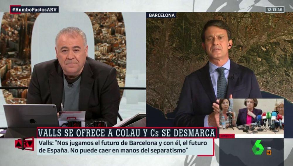 Manuel Valls en ARV