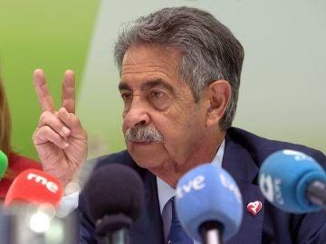 El presidente del PRC, Miguel Ángel Revilla