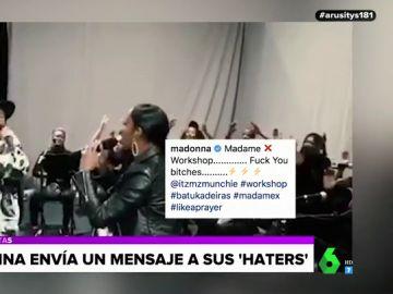 Madonna responde a las críticas a su actuación en Eurovisión con un vídeo en Instagram